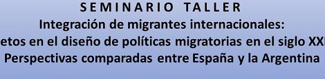[IMHICIHU] Seminario-Taller Integración de migrantes internacionales