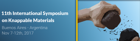 [IMHICIHU] 11th International Symposium on Knappable Materials en Buenos Aires