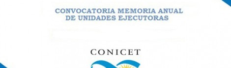 Convocatoria de memoria anual 2017 de Unidades Ejecutoras